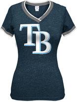 5th & Ocean Women's Tampa Bay Rays Triple Flock T-Shirt