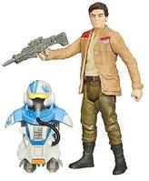 "Star Wars The Force Awakens 3.75"" Figure Space Mission Armor Poe Dameron (Pilot)"