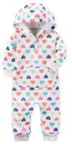 Baby Starters carter's® Multicolor Hearts Romper in Ivory