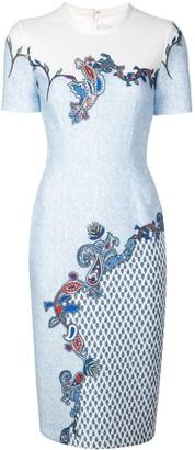 Yigal Azrouel Venice paisley print scuba dress