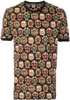 Dolce & Gabbana crest print T-shirt - men - Cotton - 46