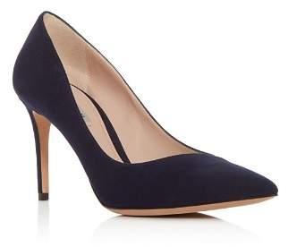 Giorgio Armani Women's Decollete Suede Pointed Toe Pumps