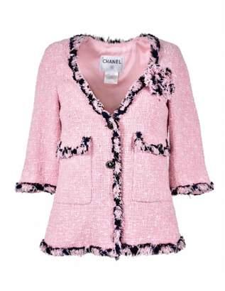 Chanel Pink Tweed Jackets