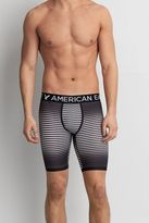 "American Eagle Outfitters AE Black Stripe 9"" Flex Trunk"