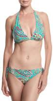 Etro Reversible Printed Bikini Swim Set