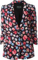 Emporio Armani floral print blazer - women - Polyester/Acetate - 40