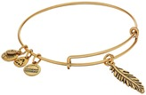 Alex and Ani Feather Charm Bangle Bracelet