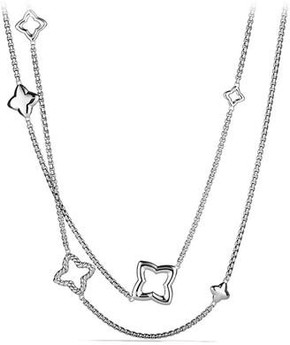 David Yurman 'Quatrefoil' Chain Necklace