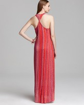 Ella Moss Maxi Dress - Piazza Zigzag Print