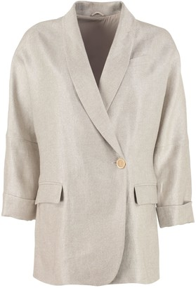 Brunello Cucinelli Single-breasted One Button Jacket