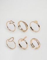 Aldo Delicate Geometric Stacking Rings