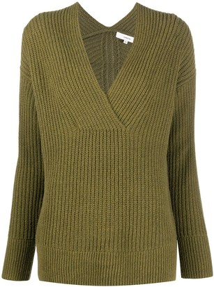 Vince knitted V-neck jumper