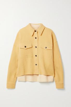 Isabel Marant Dennao Wool Jacket - Pastel yellow