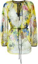 Roberto Cavalli printed silk blouse - women - Silk - 42