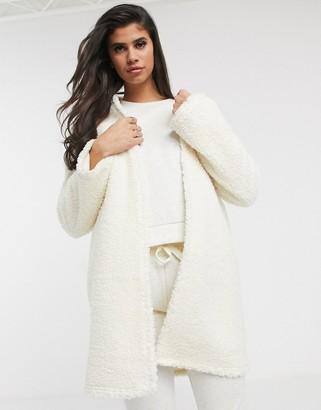 ASOS DESIGN lounge borg robe
