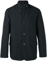 Fay buttoned high collar jacket