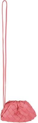 Bottega Veneta Pink Intrecciato Mini Charm Clutch