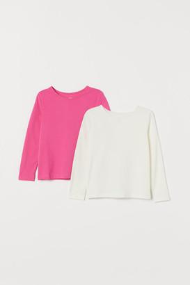 H&M 2-Pack Long-Sleeved Tops