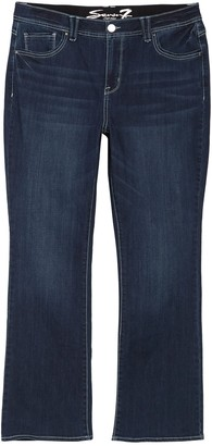 Seven7 High Rise Absolute Bootcut Jeans (Plus Size)