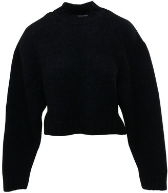 Le Slap Gaono Shiny Blue Grey Knitted Sweater