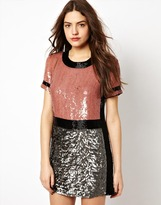 French Connection Shelly Sequins Dress