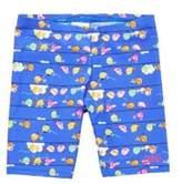 Zoggs Pretty Bird Print Swim Shorts, Girl's