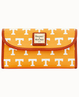 Dooney & Bourke Tennessee Volunteers Large Continental Clutch