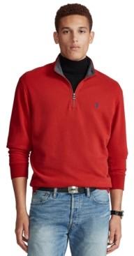 Polo Ralph Lauren Men's Jersey Quarter-Zip Pullover
