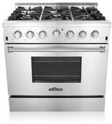 "ThorKitchen Professional 36"" Free-standing Gas Range"