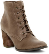 Restricted Time-Out Lace-Up Boot