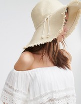 New Look Straw Floppy Hat
