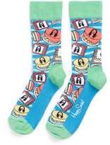 Happy Socks x Steve Aoki cake socks