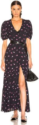 Rotate ROTATE Floral Dress in Rose & Black | FWRD