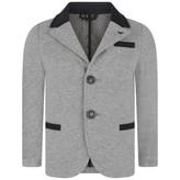Armani Junior Armani JuniorBoys Grey Jersey Blazer