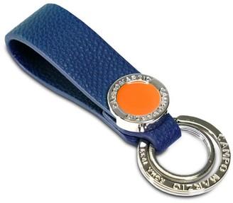 Campo Marzio Double Key Holder Petrol Blue