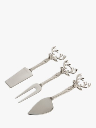 Culinary Concepts Stag Cheese Knives, 3 Piece