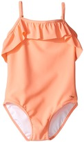 Chloe Kids - Ruffle One-Piece Swimsuit Girl's Swimsuits One Piece