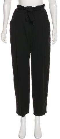 Armani Collezioni Silk High-Rise Pants w/ Tags
