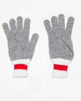 Le Château Wool Blend Colour Block Glove