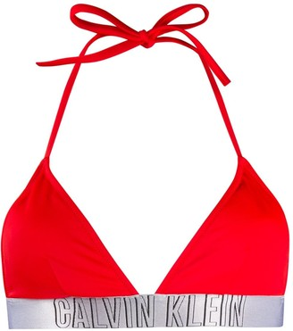 Calvin Klein Underwear logo bikini top