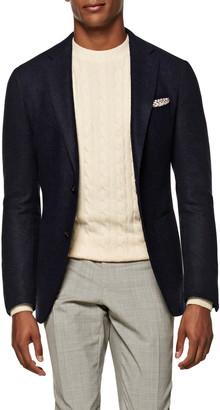Suitsupply Solid Alpaca Blend Sport Coat