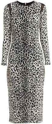 le superbe Kate Leopard-Print Bodycon Dress