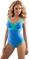 Aquarilla Luxury Swimwear Womens Fantastic V Neck One Piece Adjustable Swim Costume, Soft Padded Swimwear