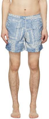 Bather Blue Bandana Swim Shorts