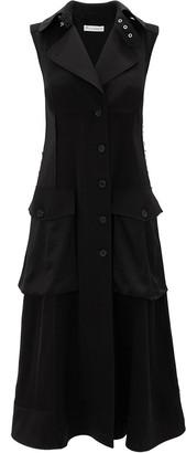 J.W.Anderson Cargo Pockets Buttoned Midi Dress