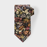 Paul Smith Men's Autumnal Floral Still Life Silk Tie