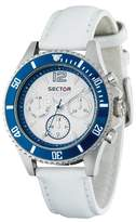 Sector Women's Watch R3271661545 In Collection 230 With White Dial & White Colour Leather Strap