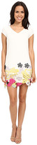 Laundry by Shelli Segal Sheath Dress with Lace Hem
