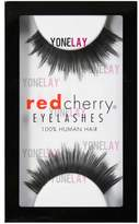 Red Cherry False Eyelashes, Black (Pack of 6)