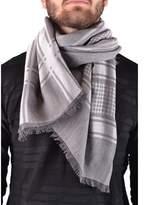 Emporio Armani Men's Grey Modal Scarf.